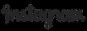 Instagram Text Logo