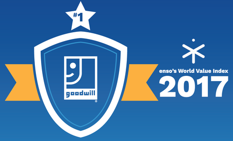 Goodwill Ranks #1 on World Value Index for a Second Year!