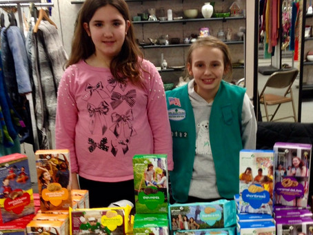 Goodwill Teams Up with Girl Scouts of WNY