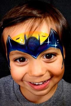 Face Painting Bat Mask