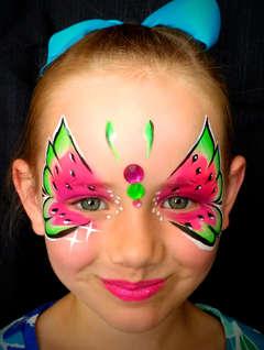 Watermelon Butterfly