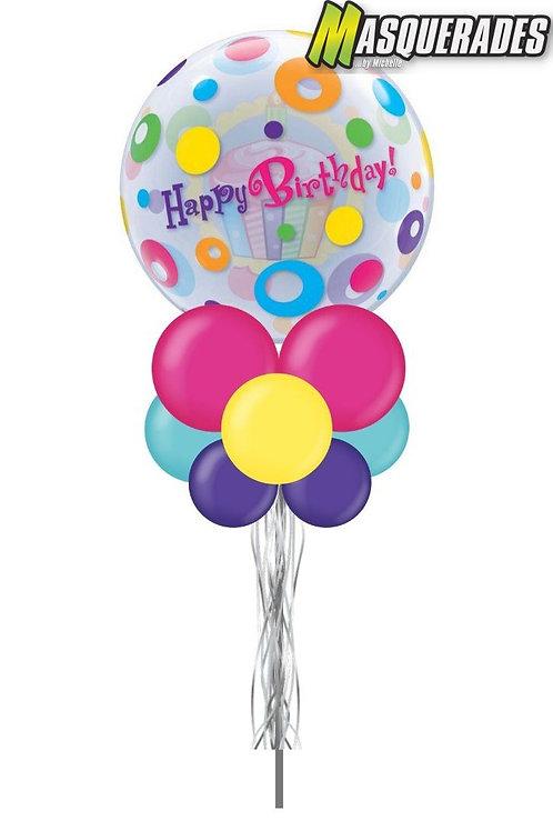 "Happy Birthday Bubble 22"""