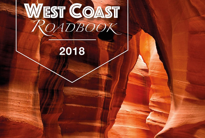 Onze West Amerika Roadbook in PDF