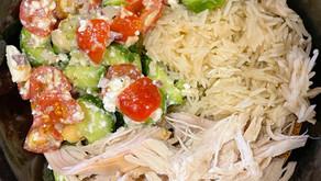 Mediterranean Rotisserie Chicken Bowls
