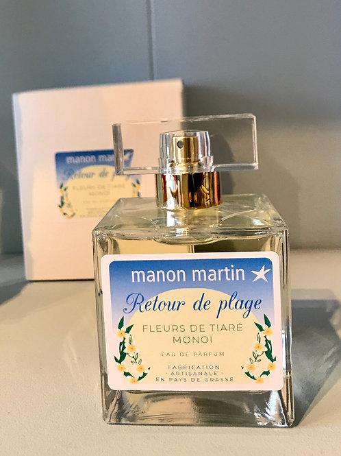 Parfum retour à la plage