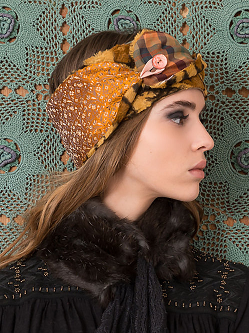 Leopard Fur Gypsy Headband