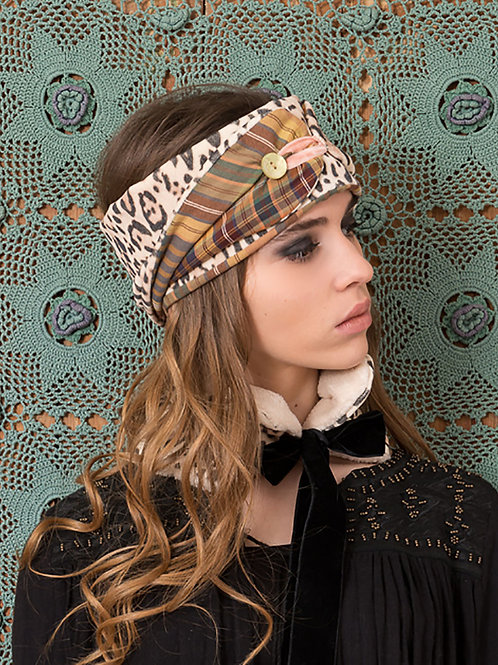 Gypsy leopard headband