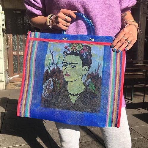 Cabas Frida Bleu