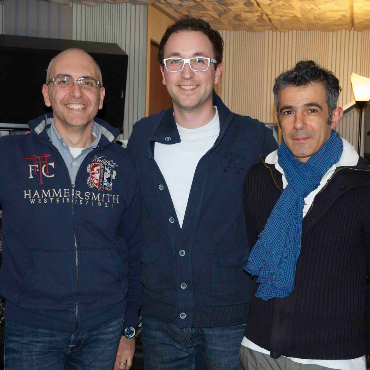 With Stefano Amerio and Paolo Fresu