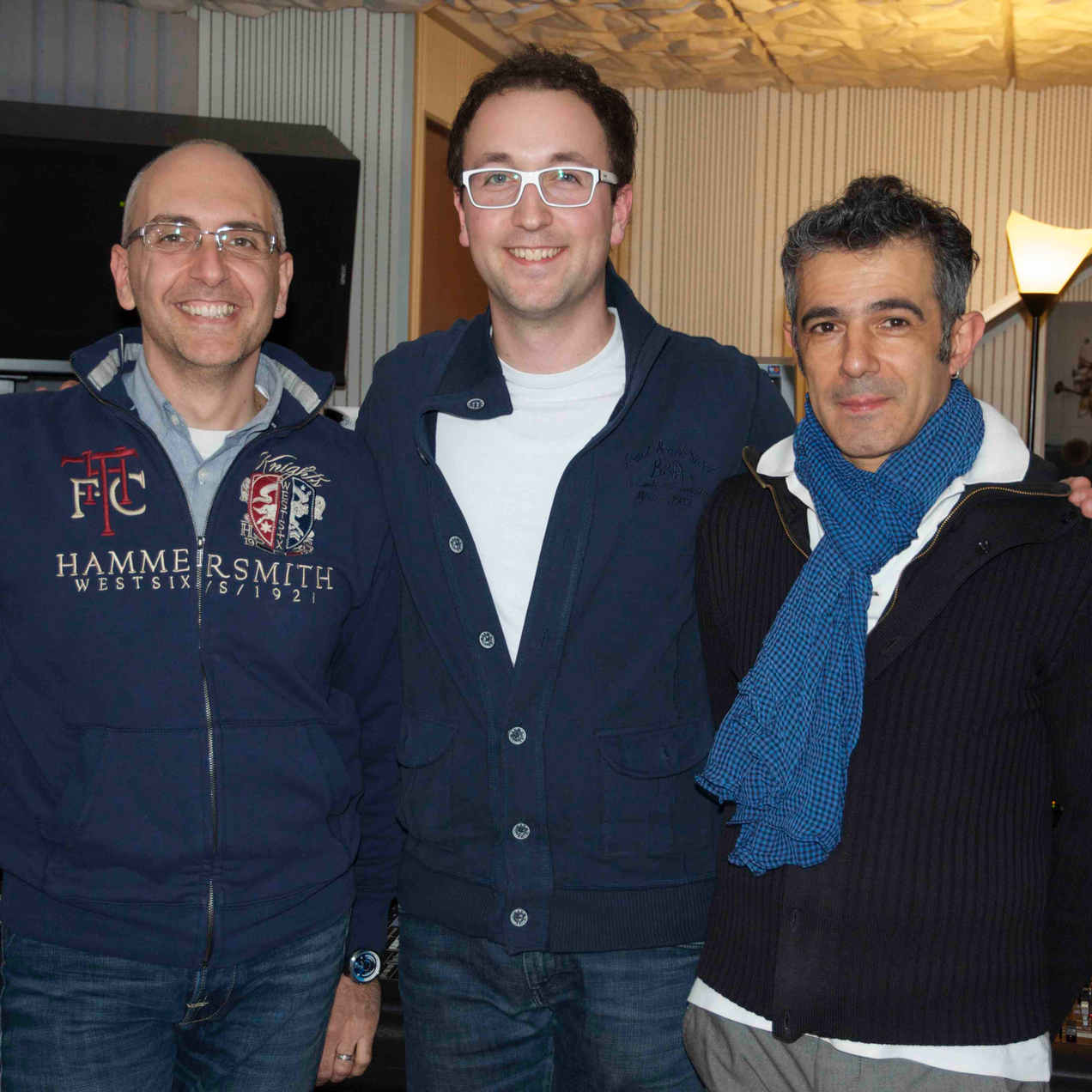 With Stefano Amerio and Paolo Fresu