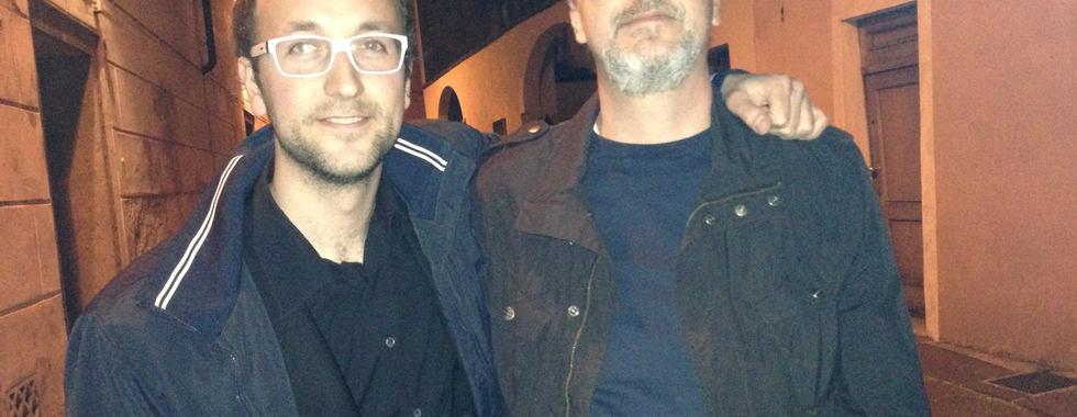 With Robert Bonisolo