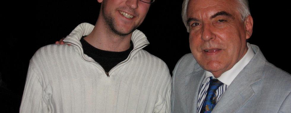 With Giorgio Gaslini