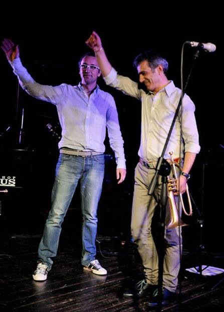 In concert with Paolo Fresu