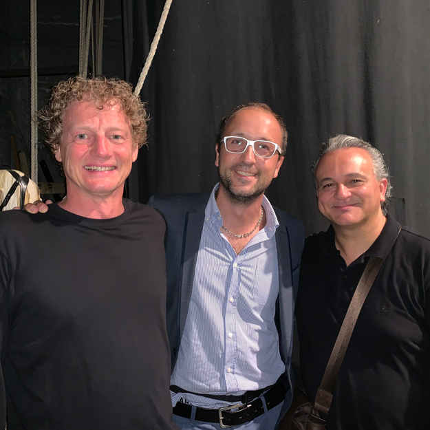 with Luca Gusella and Andrea Tofanelli