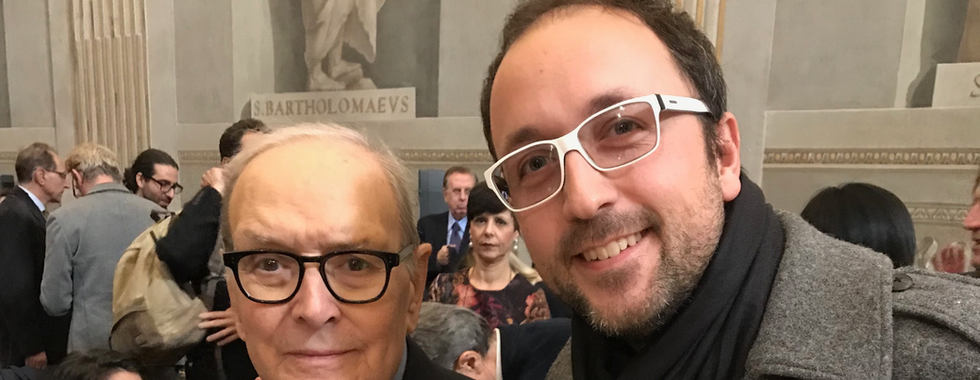 With M°Ennio Morricone