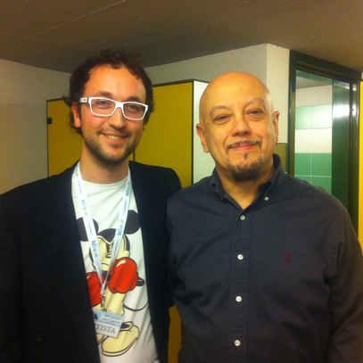 with Enrico Ruggeri