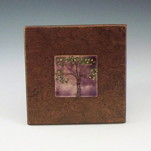 Small Frame - Tree of Life - Purple