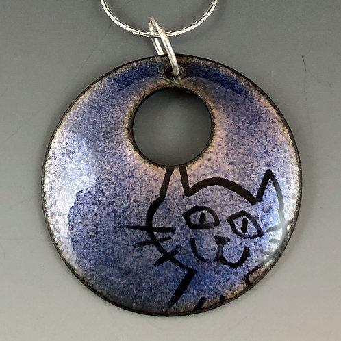 Circle of Life - Happy Cat Blue