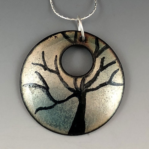 Circle of Life - Tree of Life Light Turquoise