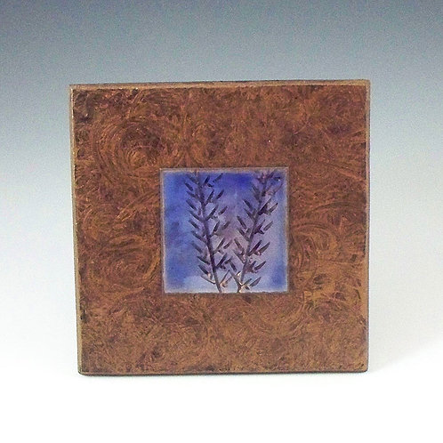 Small Frame - Bamboo - Blue