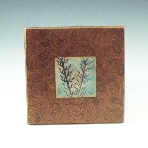 Small Frame - Bamboo - Light Turquoise