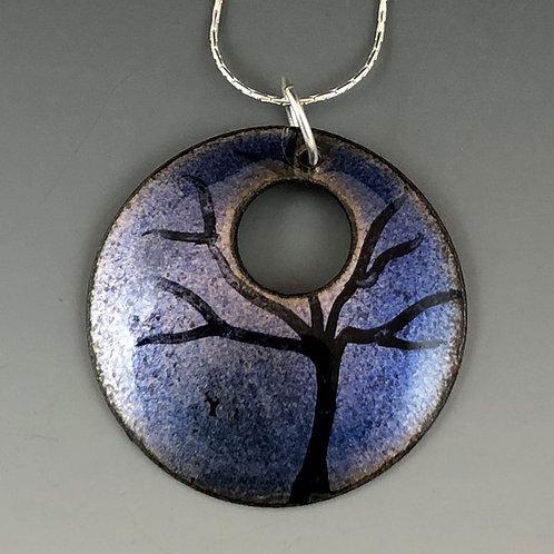 Circle of Life - Tree of Life Blue