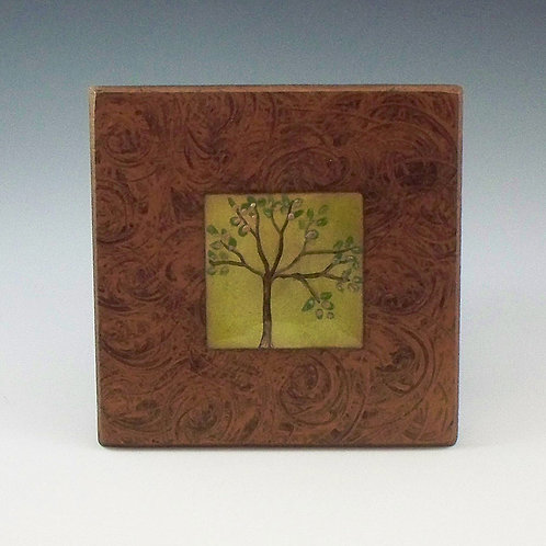 Small Frame - Tree of Life - Lime Green