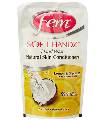 Fem Soft Handz Hand Wash – 185 ml