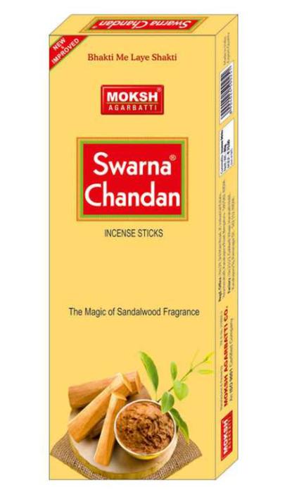 Moksh - Swarna-Chandan -Agarbati