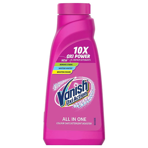 Vanish Oxi Action All in One Colour Safe Detergent Booster 400ml