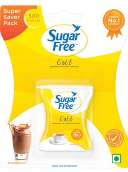 Sugar Free Gold 500 Pellets