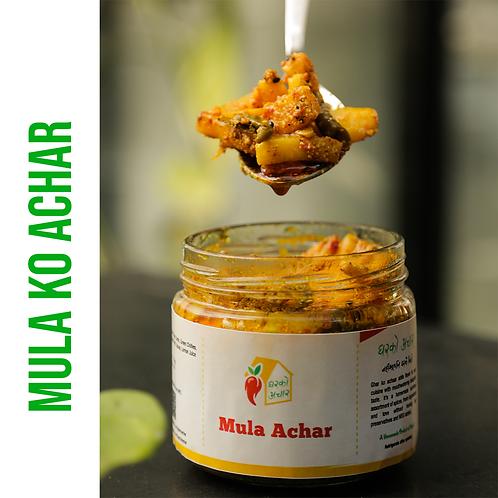 Mula Ko Achar - 350 gm