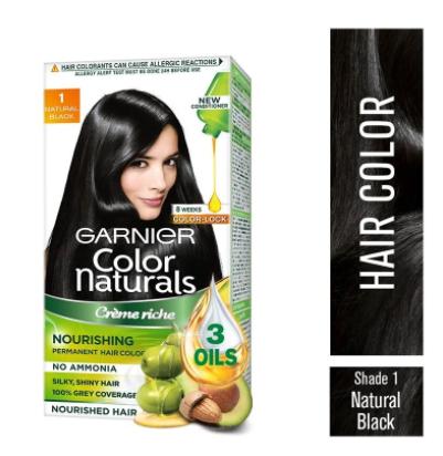 Garnier Color Naturals Creme Hair Colour (Shade 1 Natural Black)
