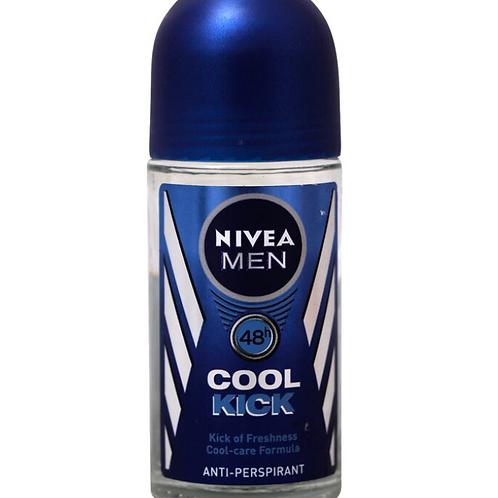 Nivea Deo Cool Kick Roll On Antiperspirant Protection, 50 ml