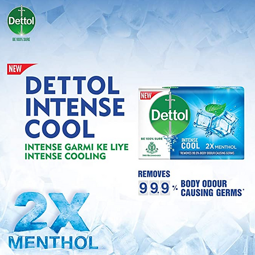 Dettol Intense Cool ( Pack of 5 )