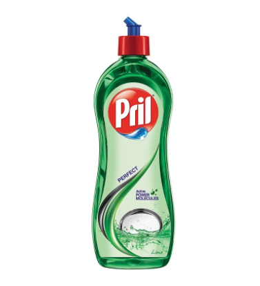 Pril Active 2x Lime Dishwash Gel - 425 Ml