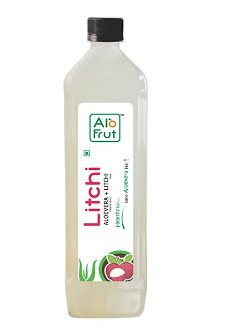 AloFrut Litchi Aloe Vera Juice - 1 L
