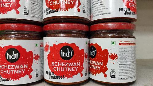 Inchi Schezwan Chutney, 200g Chutney Paste  (200 g)