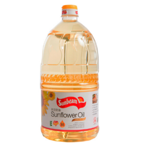 Sunbeam Sunflower Oil - 2 Ltr Jar