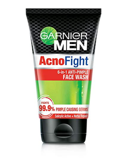 Garnier Men Acno Fight Anti-Pimple Face Wash 100 gm