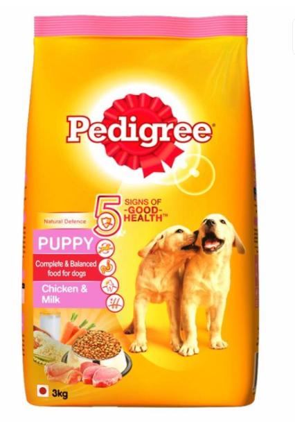 Pedigree Puppy Food - 3 Kg