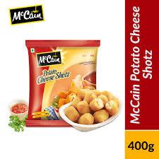 Mccain Potato Cheese Shots 400g
