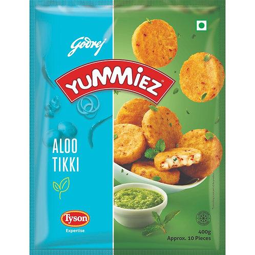 Godrej Yummiez Aloo Tikki, 400 gm