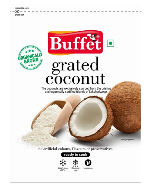 Grated Coconut -  400 gm