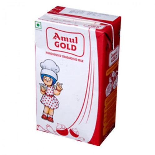 Amul Gold Milk (Tetra Pak) - 1 Ltr