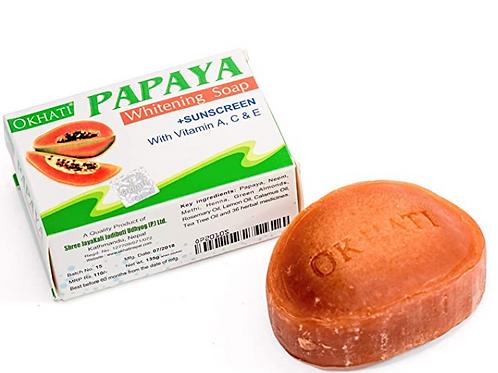 Ayurvedic Okhati Papaya Soap 75 gm