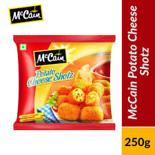 Mccain Potato Cheese Shots 250g