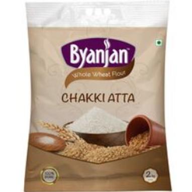 Byanjan Whole Wheat Atta - 2 Kg