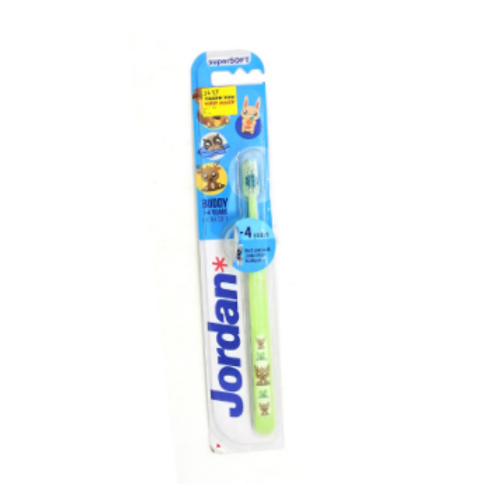 Jordan Super Soft Kids Tooth Brush 1-4 Years