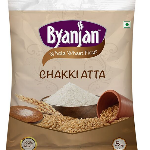 Byanjan Whole Wheat Atta - 5 Kg